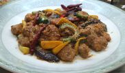 鶏肉と夏野菜の怪味ソース<100gあたり320円税別>