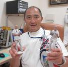 野瀬病院の院長も3Dスキャンを体験