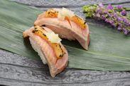 秋鮭西京味噌炙り 260円(税別)