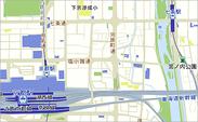 おもてなしマップ日本語版(京都駅周辺)