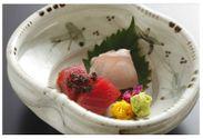 メジマグロと白甘鯛の熟成刺身