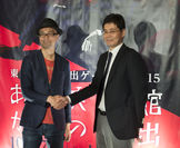 完成披露体験会の様子(左:加藤 右:井川氏)