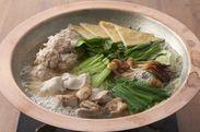 手火山式本枯鰹出汁で食す山麓鶏のちゃんこ鍋