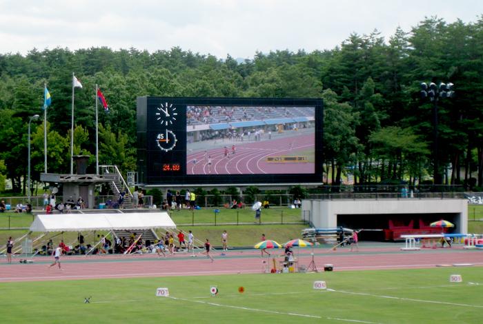 長野県松本平広域公園 陸上競技...