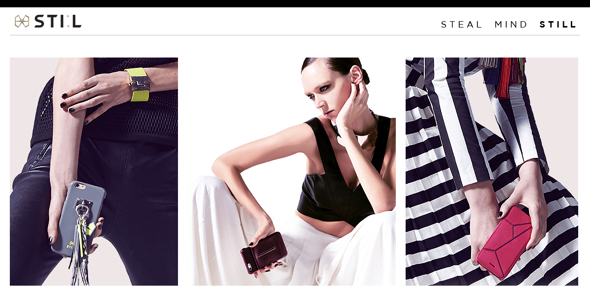 STI:L 、手のひらのファッション革命!iPhone 6sレザーケース発売
