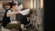 CM「浴室シーン 1」