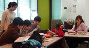現地での英語授業