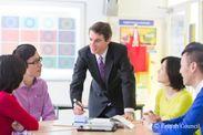 国際教授資格をもったネイティブ講師が、実践的で質の高いレッスンを作り上げます。
