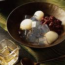 金箔入りシロップを使用したみつ豆(イメージ)