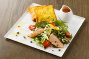 フレンチトースト&サーモングリルサラダ