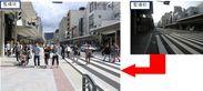 画像2:歩幅拡幅の様子