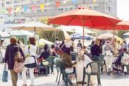 湊川公園手しごと市 会場の様子 2