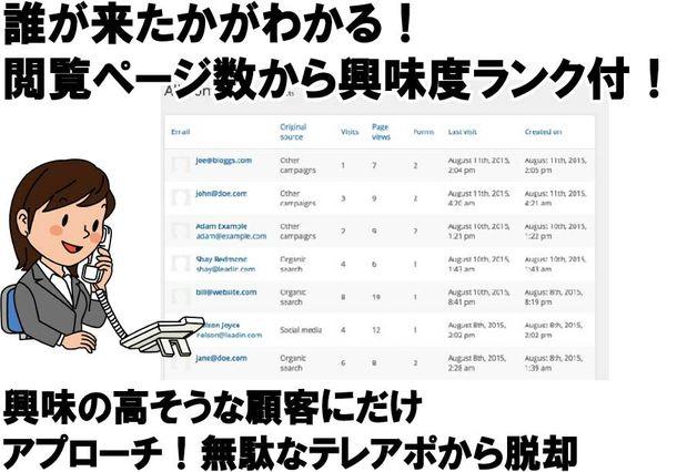 Web解析画面