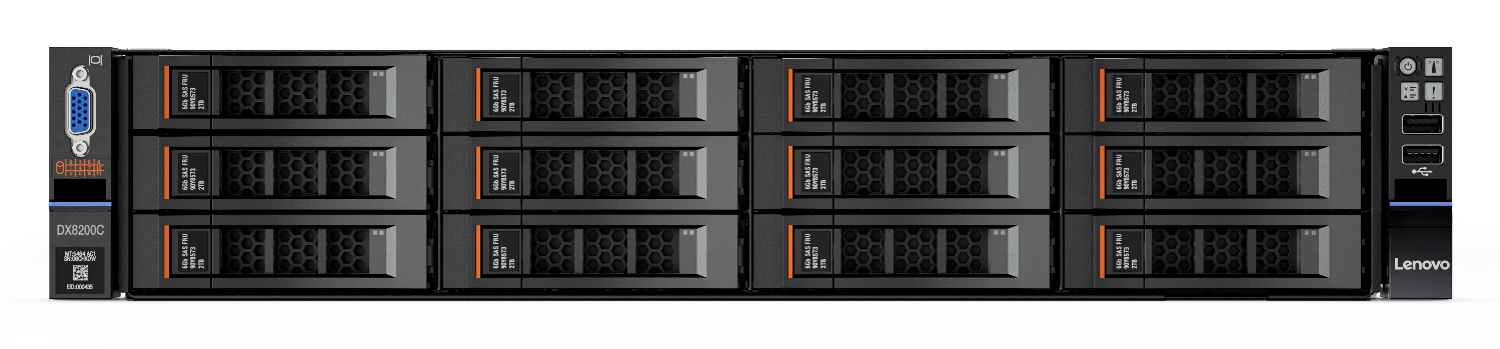 Lenovo Storage DX8200C powered by Cloudian