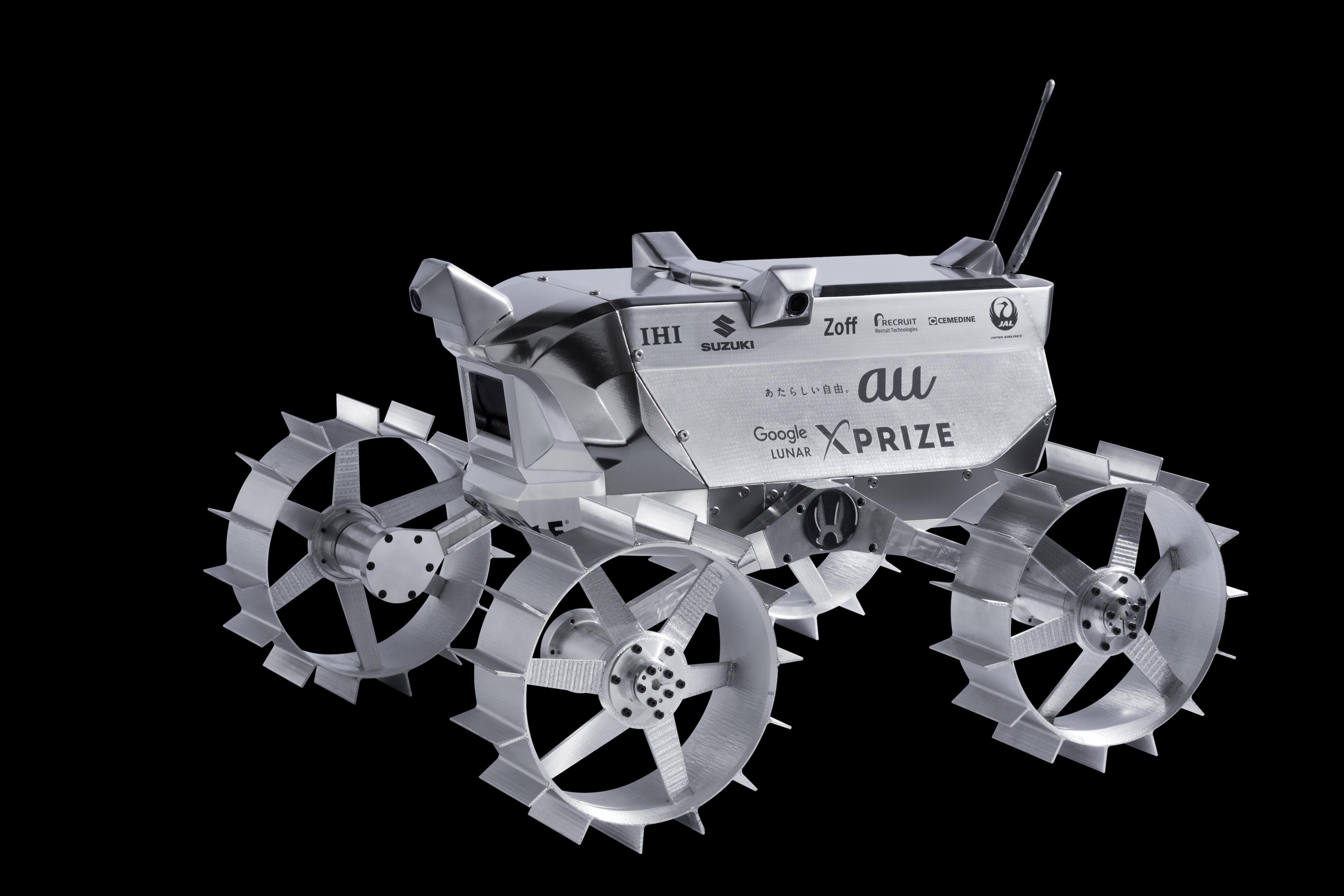 スズキ、Google Lunar XPRIZEに...