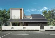 木曾ひのきの家もりぞうの建築事例「中庭の家」