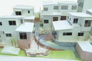 エコヴィレッジnest中台の杜 模型写真
