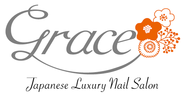 "Japanese Luxury Nail Salon ""Grace""ロゴ"