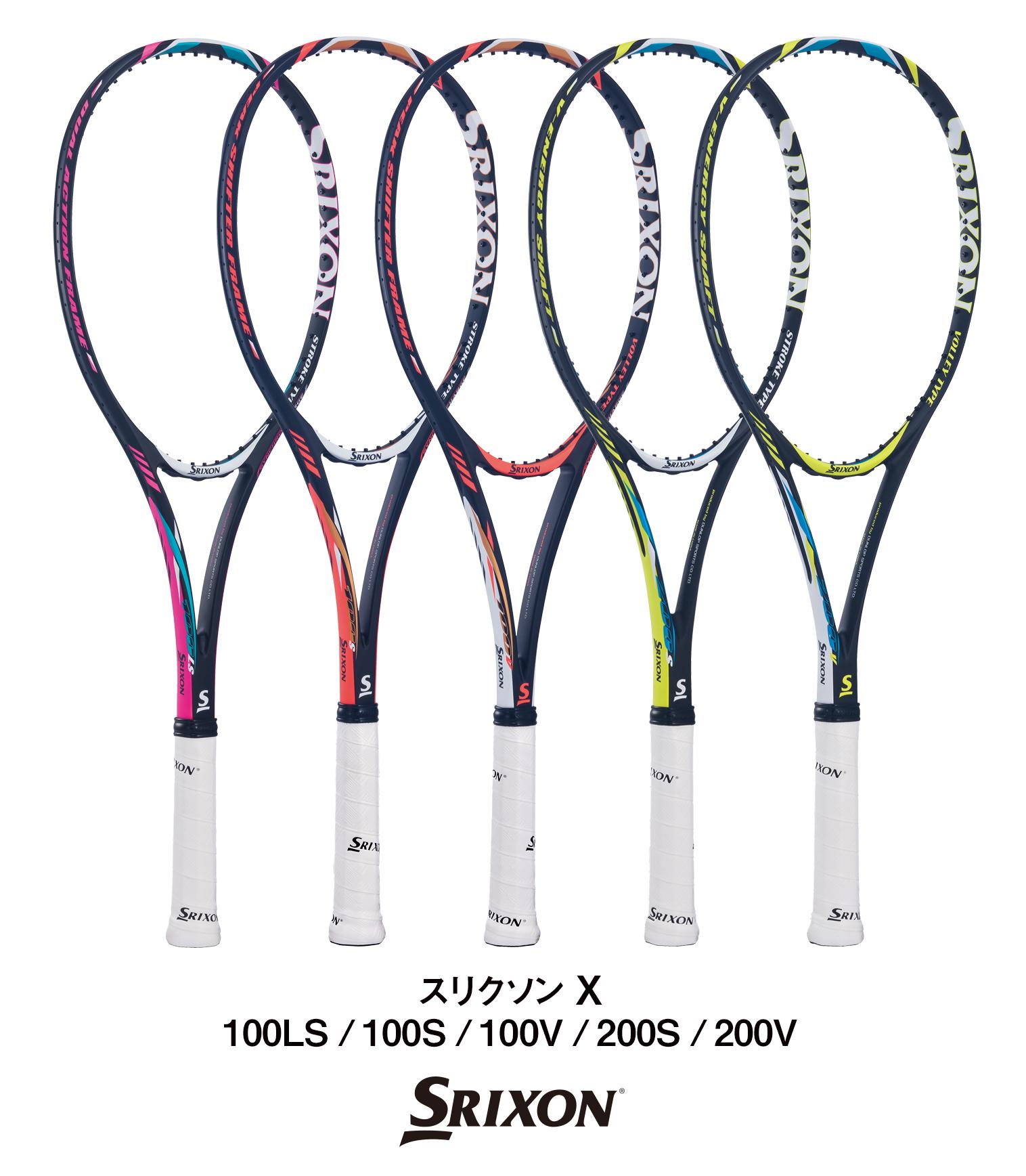 0e02bee56345ae ソフトテニスラケット「スリクソン X」シリーズを新発売|ダンロップ ...