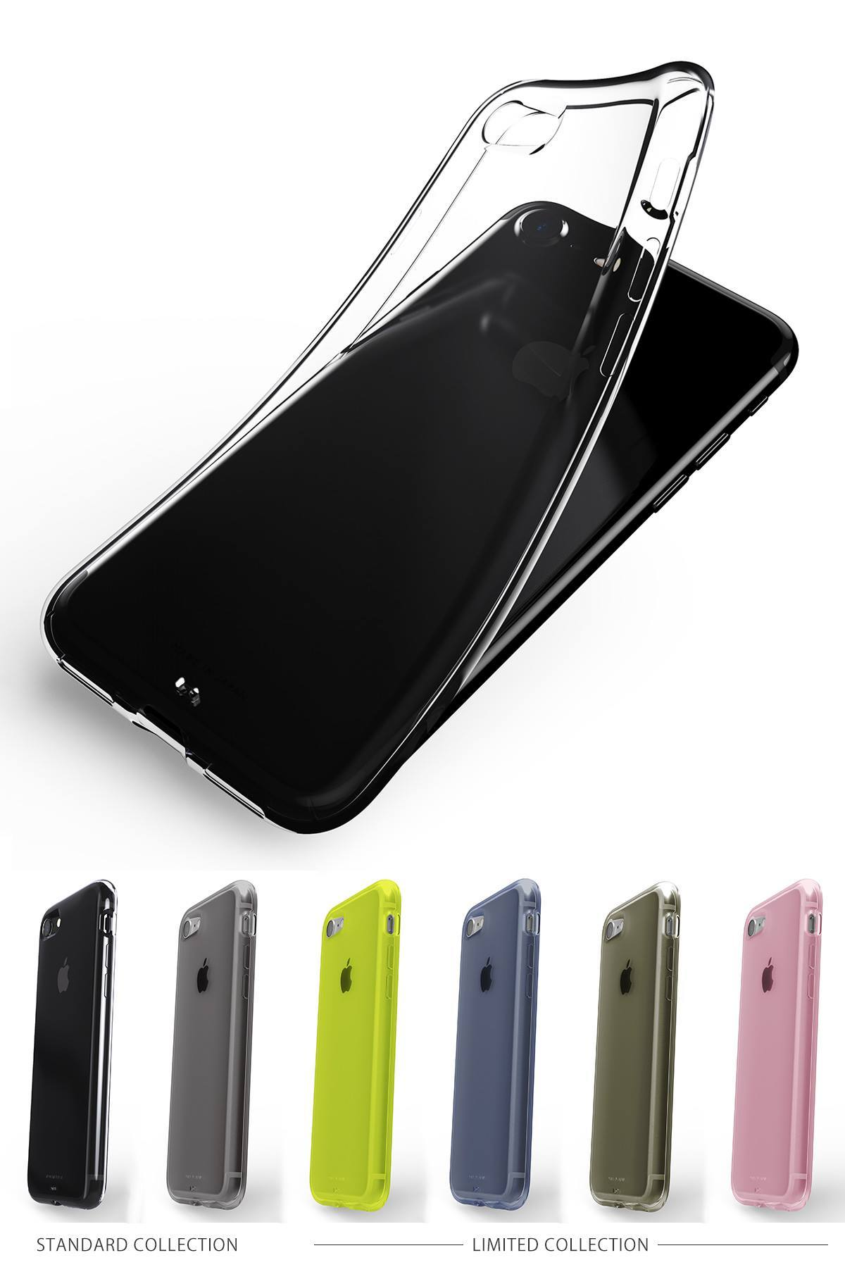 AndMesh Plain Case for iPhone 7 カラーバリエーション