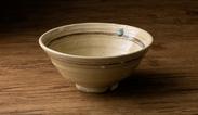 「お水がいらない 中華そば金醤」オリジナルラーメン鉢 陶芸家 穂高 隆児作