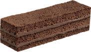 ふんわりチョコケーキミルクチョコ 生地