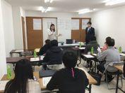 千葉市の一棟丸ごとリノベーションマンション「リリファ小倉台」での確定申告講座の様子