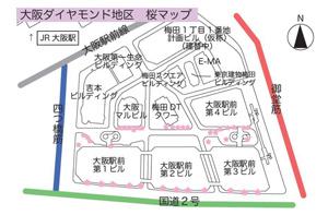 大阪の桜が開花!大阪ダイヤモン...
