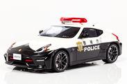 2016年、警視庁に突如配備され話題となったフェアレディZニスモのパトカーを1/18スケールで早くもモデル化!