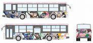 [画像]立川バス×フレームアームズ・ガール