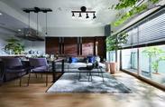 ※イメージ画像(本サービスで設置する家具・小物とは異なります。また、壁の装飾などは本サービスの対象外です。)