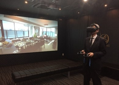 VR体感イメージ