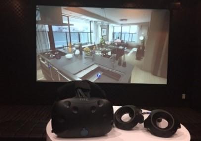 VR体感ルームと機器