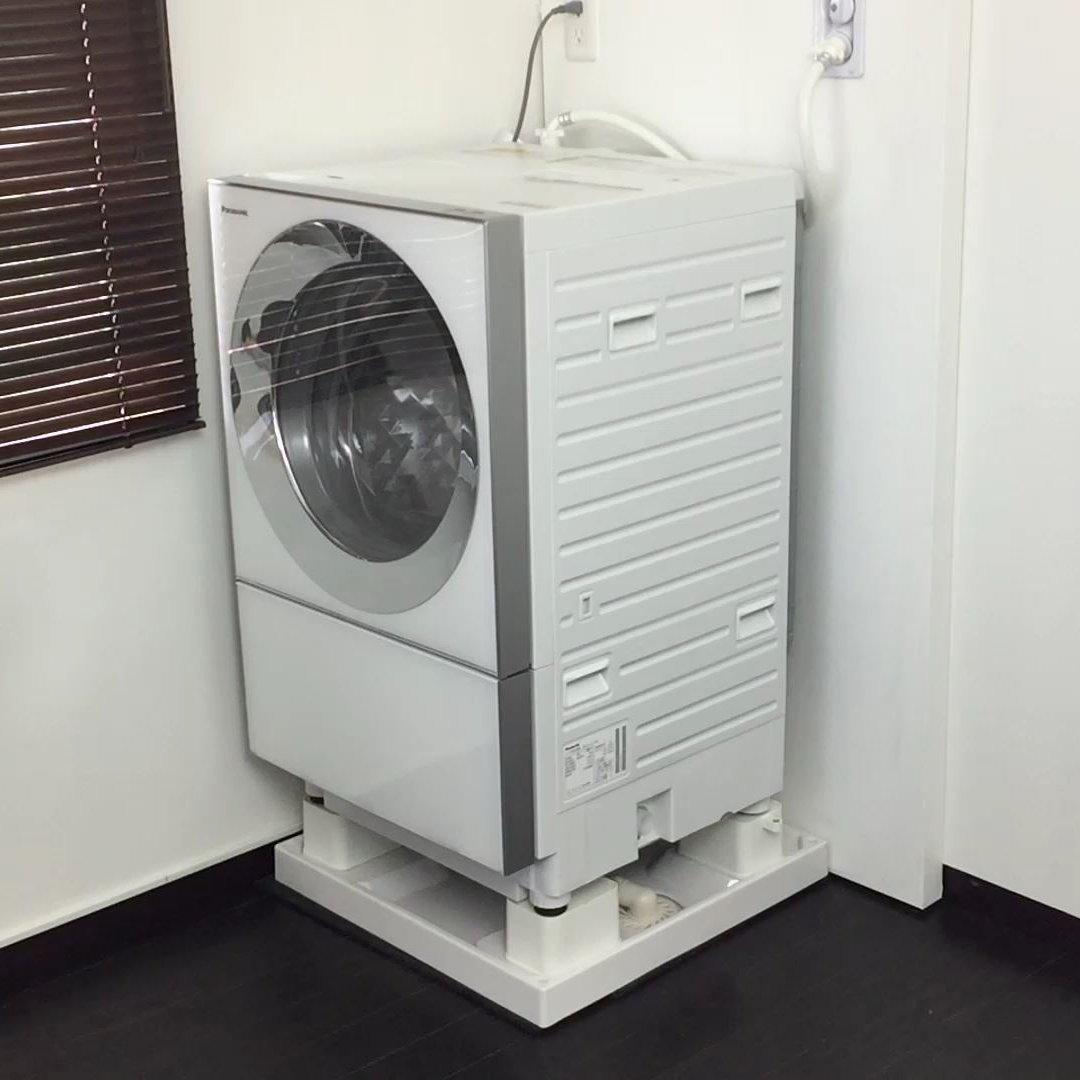 設置業者不要の洗濯機かさ上げ台を8月1日に新発売!特許技術を応用し、ラクラク清掃・カビの増殖を防止!