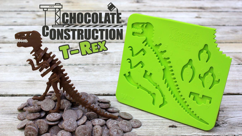 ChocolateConstruction T-REX mold