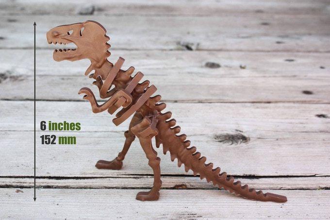 簡単にチョコレートのティラノサウルス(T-REX)が完成