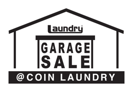 GARAGE SALE@COIN LAUNDRY