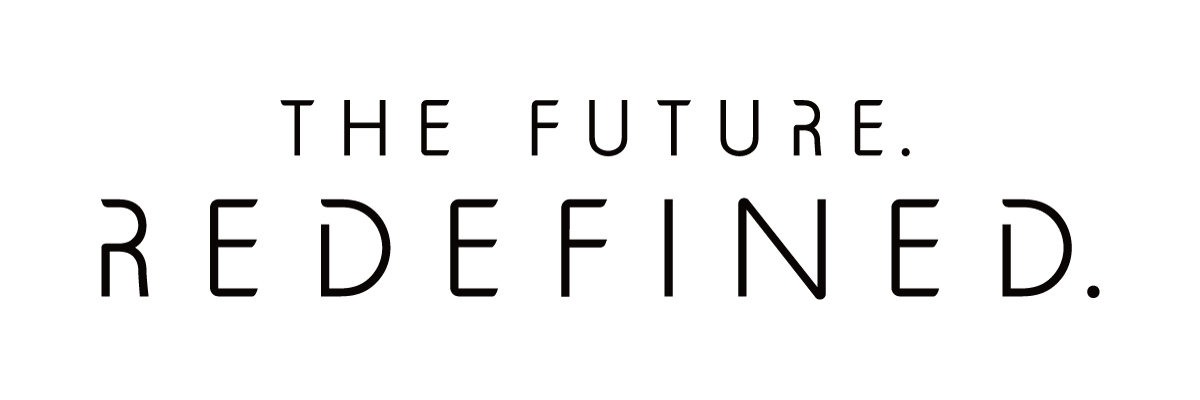 『The Future. Redefined. 』イベント・ロゴ