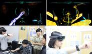 MRゲーム開発の様子とゲーム画像