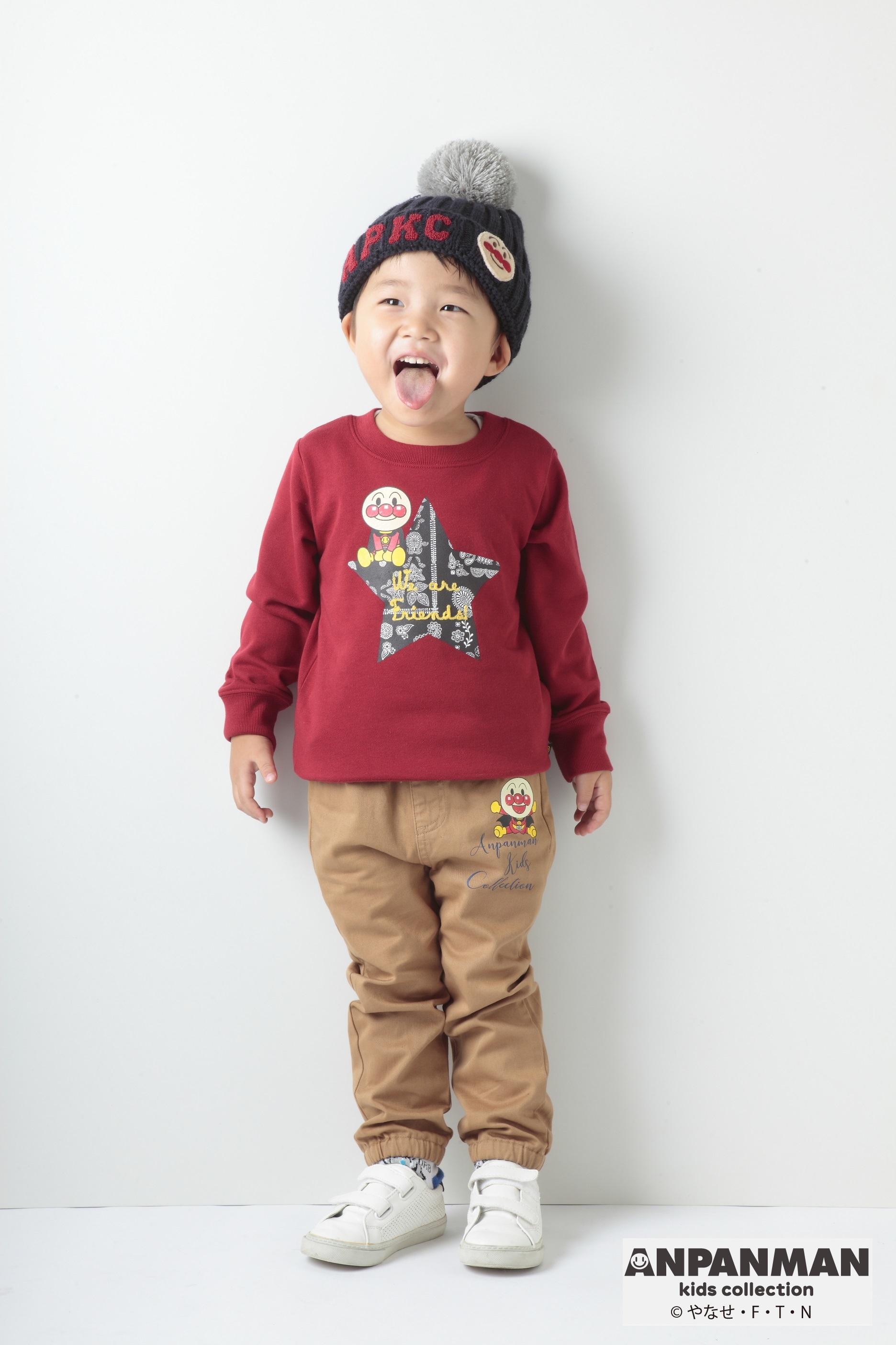 """b1bbce00f0b58 アンパンマンの子ども服ブランドが""""ZOZOTOWN""""に登場 ドットT/ワンピース ..."""
