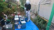 作業2.現場で塗料を作る