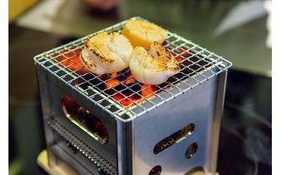 鉄工所が綿を炭化して炭火焼用新燃料を開発  寿司店向けにテスト販売を開始