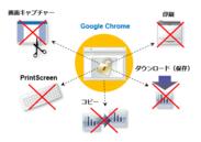 Google Chrome上で保護