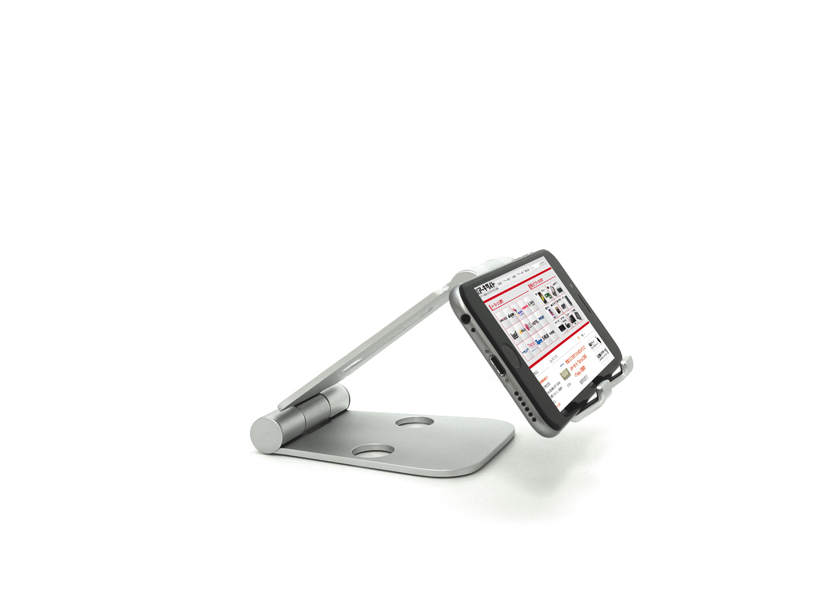 f5d96d9085 スマホやゲーム機に便利!厚さ1.8cmコンパクトに折りたためる角度調整 ...