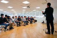 大学生のビジネスコンテスト大会(於、ハウスコム本社)