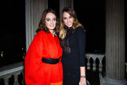 Lady Violet Manners and Amber Le Bon