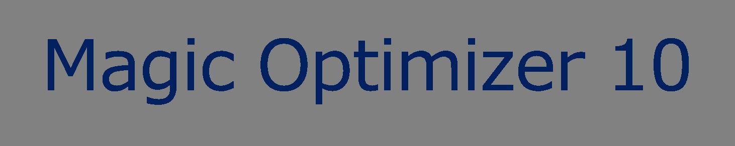 Magic Optimizer 10