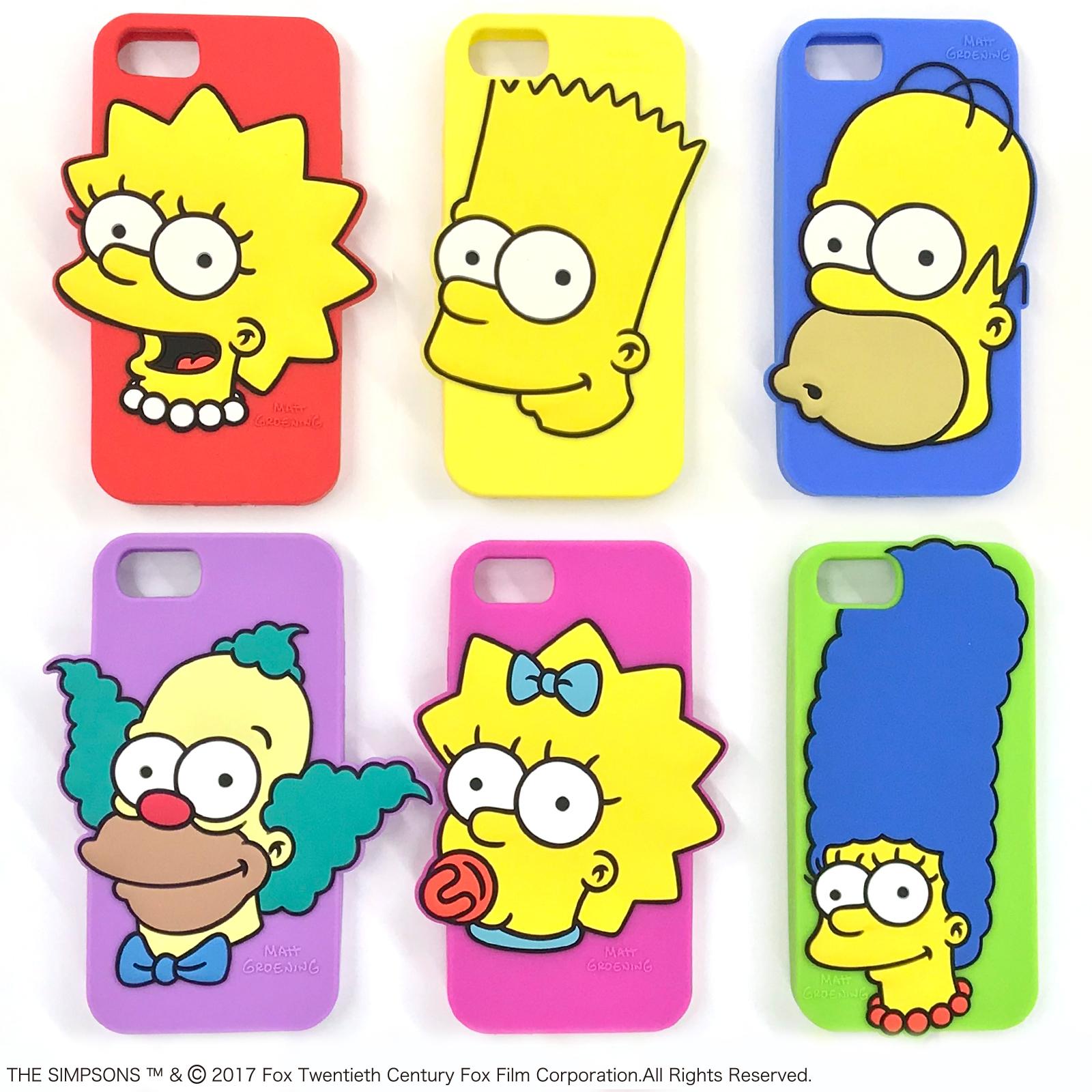 The Simpsons 米国テレビ史上最長寿の型破りなアニメーション ザ シンプソンズ 4機種対応のシリコンiphoneケースが登場 株式会社スモール プラネットのプレスリリース