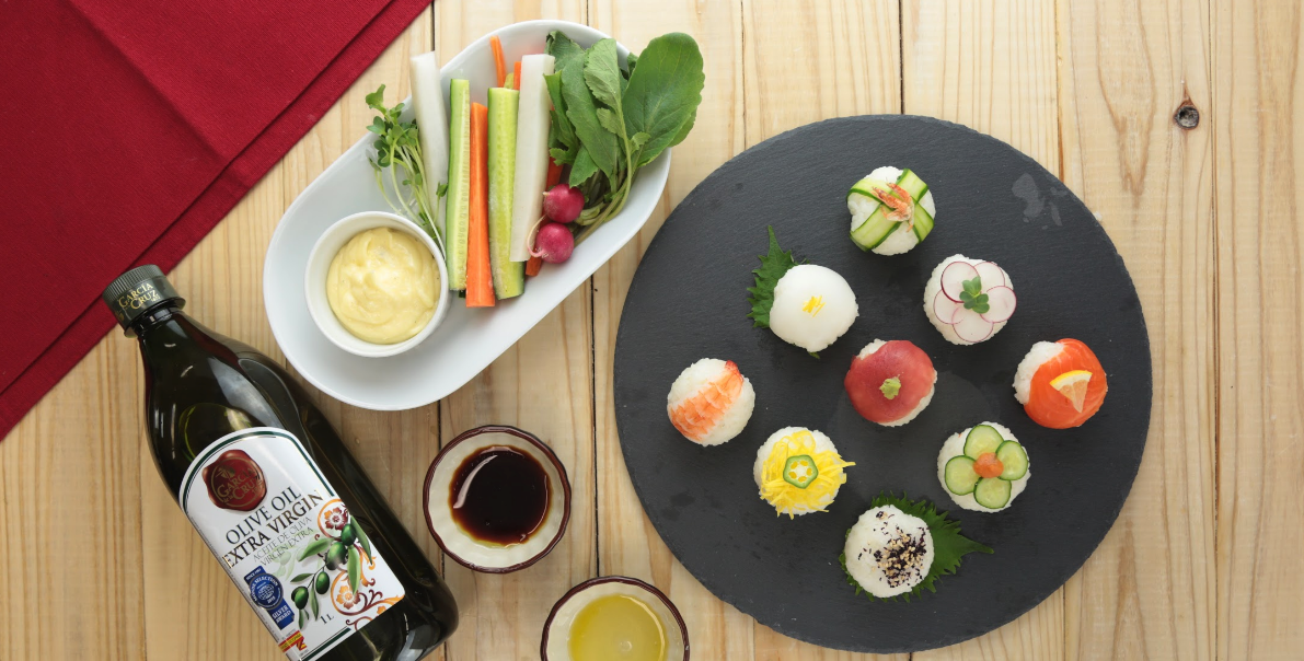 洋風手まり寿司ワークショップイメージ1