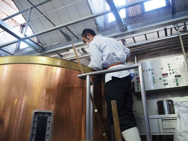 ビール醸造風景 1